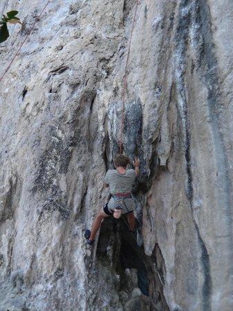 Pranang Cave: pratica de rapel