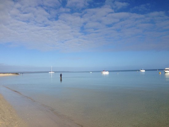 RAC Busselton Holiday Park: Abbey Beach just opposite BIG4 Peppermint Park