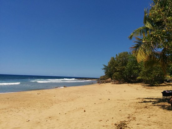 Surf 787 Guest Villa: One of the beaches we surfed at