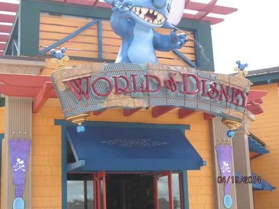 Disney Springs: Largest Disney Store in the World