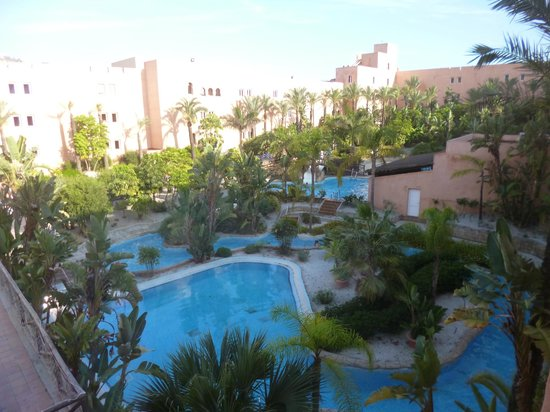 Playacalida Spa Hotel : Piscina interna