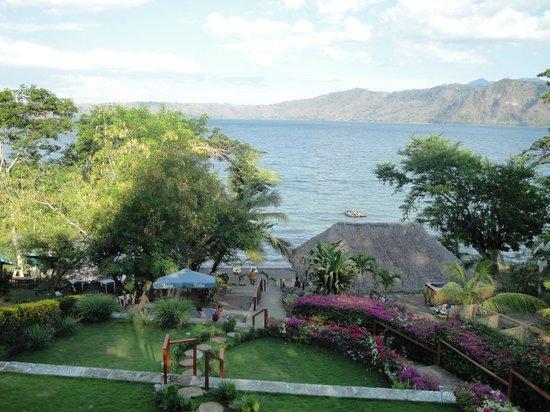 Paradiso Hostel: view of laguna apoyo