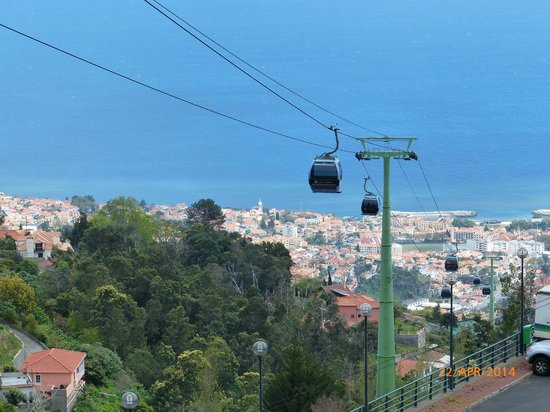 Téléphérique de Funchal : Abfahrt nach Besuch des Tropical Garden