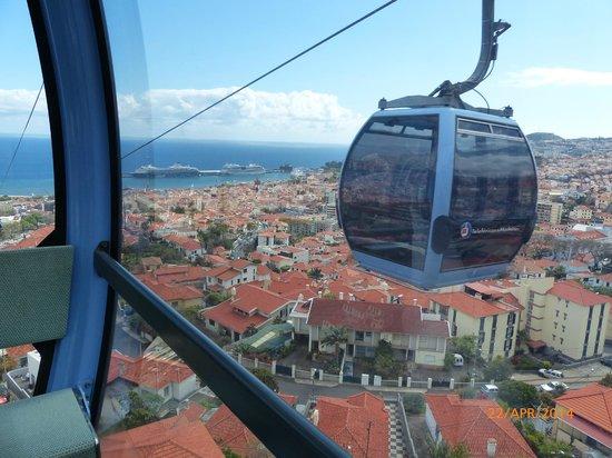 Téléphérique de Funchal : Die Seilbahn