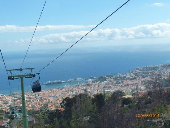 Téléphérique de Funchal : Aussicht