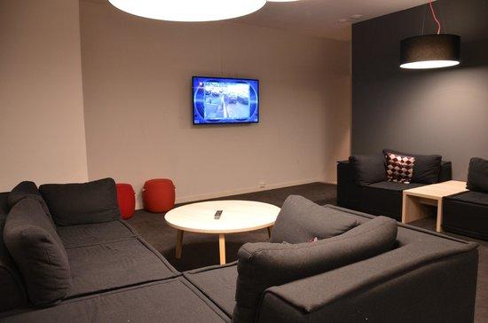 Citybox Oslo: Salle en bas