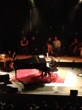 Gallo Center for the Arts: Mr John Legend, pic courtesy of my balcony seat.