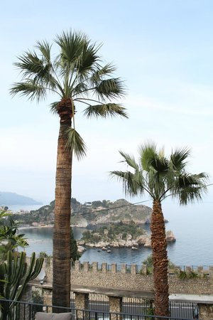 Hotel Villa Carlotta : The view is almost tropical!