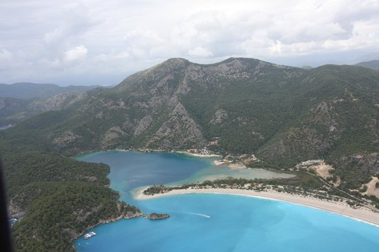 Plage d'Oludeniz (Lagon bleu) : The lagoon