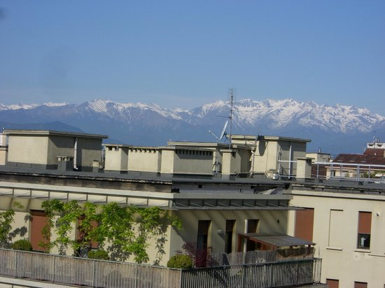 Hotel Principi di Piemonte : Room with a view