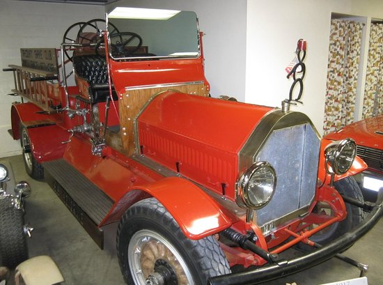Old Montana Prison Complex : 1915 Seagrave Chemical Fire Truck