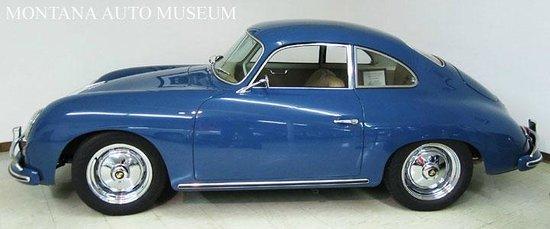 Old Montana Prison Complex : 1958 Porsche 356A Coupe