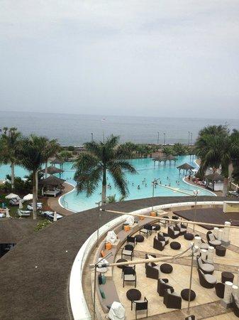 Gran Melia Palacio de Isora Resort & Spa: View from room at main pool.