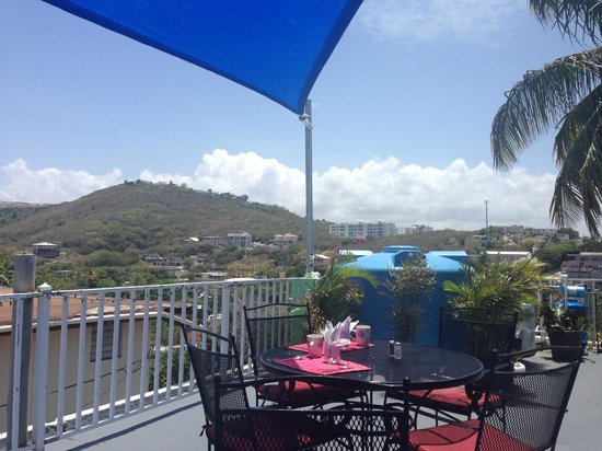 Balcony - Las Vistas Cafe at Siete Mares Bay Inn: 4