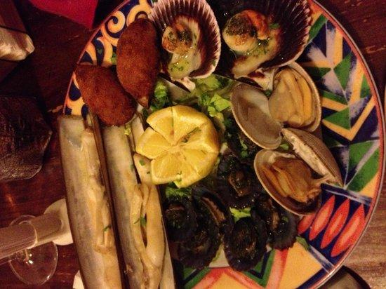 Taberna Ramón: Piatto misto frutti di mare