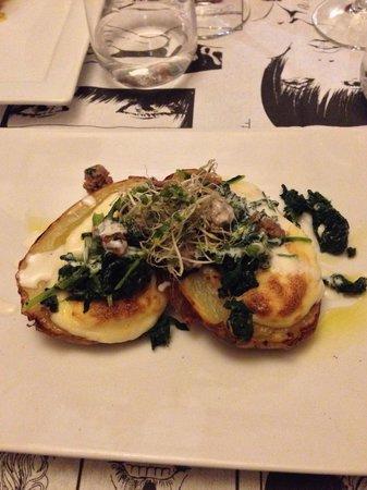 Osteria Piazzetta dell'Erba: Antipasto patate