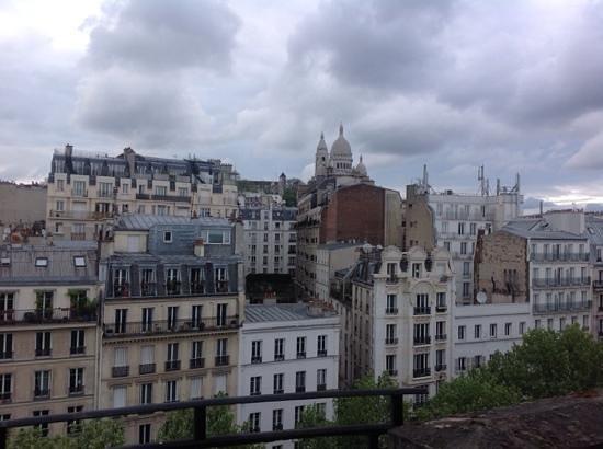 Hotel Carlton's : vista dal balcone