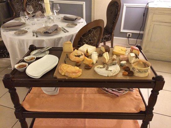 Restaurant La Renardiere : Plateau de fromages