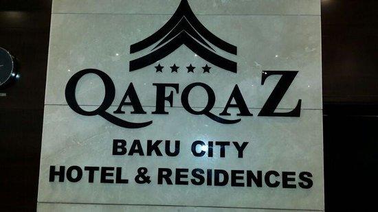 QafqaZ Baku City Hotel & Residences: Название