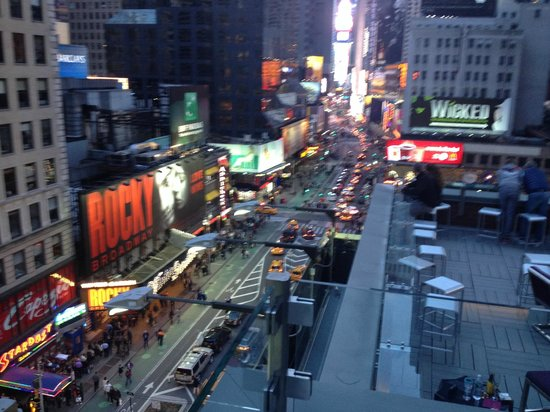 Novotel New York Times Square: vue de la terasse
