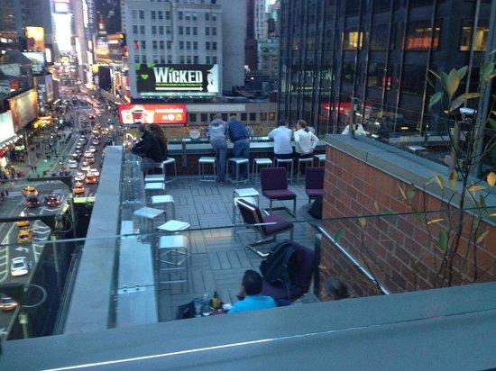 Novotel New York Times Square: la terasse