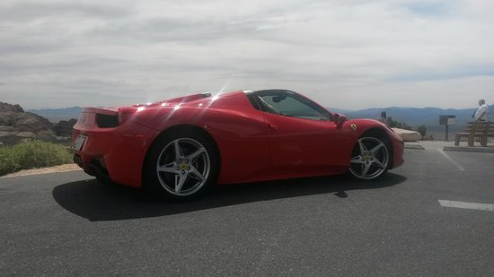 las rent dream vegas cars exotic a convertible italia rental car ferrari in