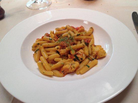 Bottega Napa Valley : Lobster and pasta