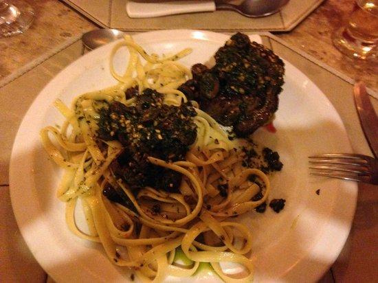 La Tratoria : Filet Nero - Delicioso