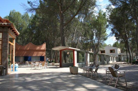 Requena, Spain: entrada del balneario