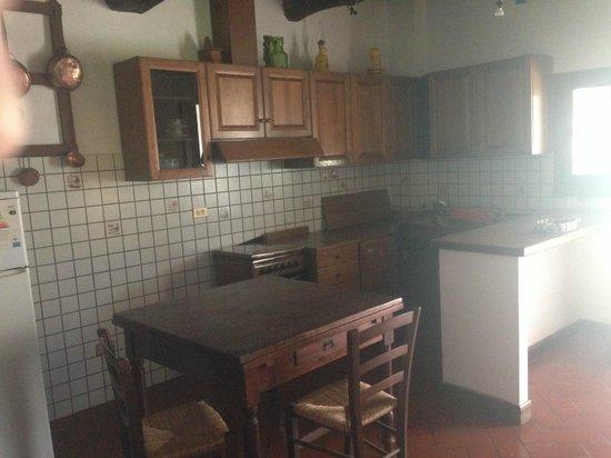 Podere di Valli: Cucina appartamento