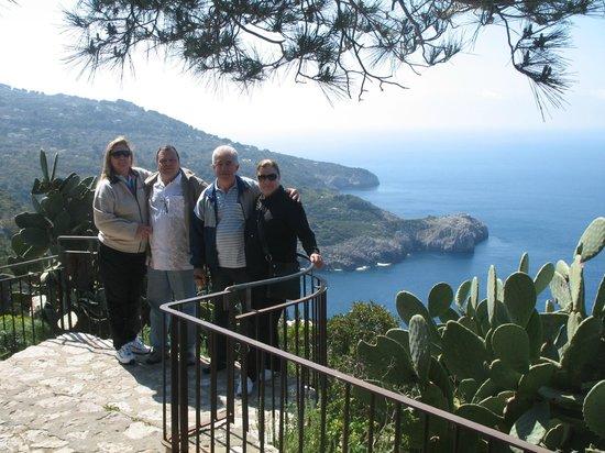 Vista capri obr zek za zen costa diva tour day tours for Costa diva
