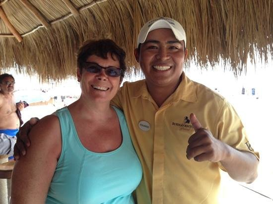 Buenaventura Grand Hotel & Great Moments All Inclusive: Edwardo is a fantastic waiter!