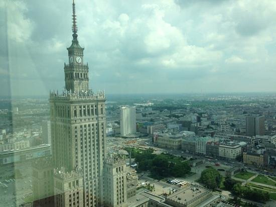 InterContinental Hotel Warsaw: A room with a view