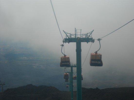 Monte Etna: funivia