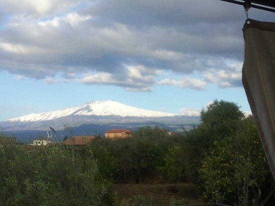 Monte Etna: etna innevato