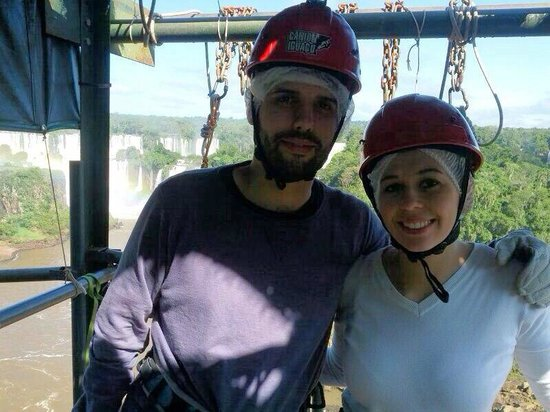 Abseiling in the Iguacu Canyon: Rapel