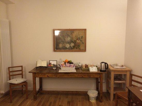 Casa Panvinio: The tea room