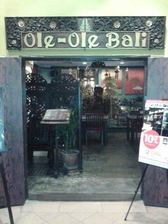 Back door entrance at Ole Ole Bali Sunway Pyramid