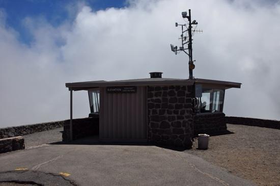 Haleakala Crater: Au sommet de Haleakala