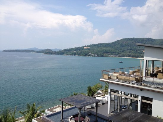 Cape Sienna Hotel & Villas : view from balcony