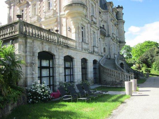 Chateau Clement: une autre partie du château