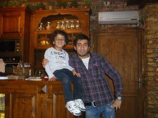 Keyf-i Mekan Cafe And Restaurant: Mehmet