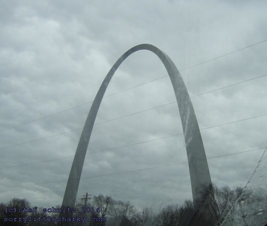 Gateway Arch: The St Louis Arch, photo from SorryLittleSharky.com