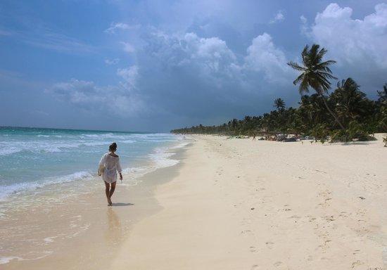 Playa Xcanan Cabanas Tulum: Strand