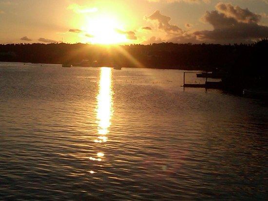 GHL Relax Hotel Sunrise: Atardecer desde el muelle!