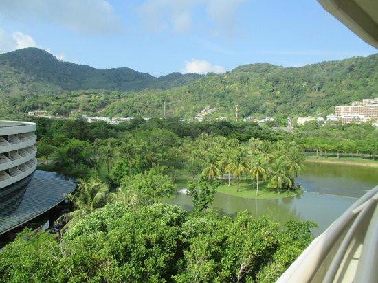Hilton Phuket Arcadia Resort & Spa: View towards the mountains across the lagoon