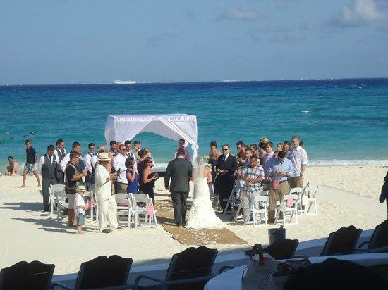 Playacar Palace: casamento no hotel