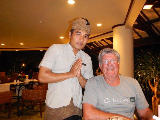 Grand Mirage Resort and Thalasso Bali : wonderful staff