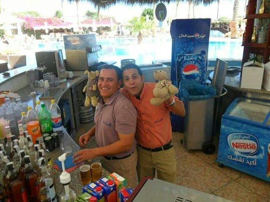 Hilton Sharks Bay Resort: Het personeel