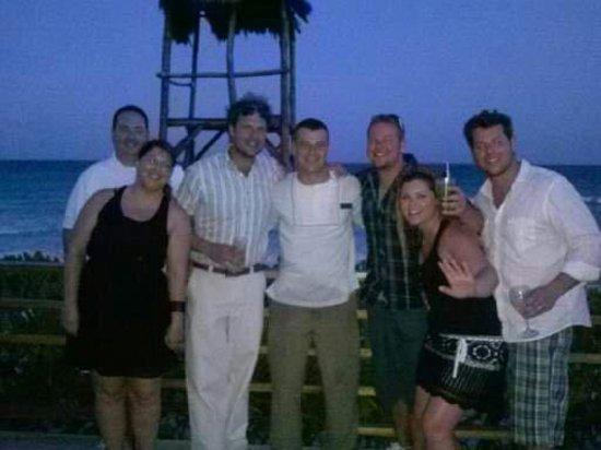 Now Jade Riviera Cancun: Darius at The Mix Bar on the beach
